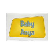 Baby Anya Rectangle Magnet