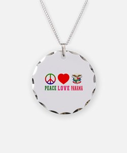 Peace Love Panama Necklace
