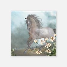 """The Horse Square Sticker 3"""" x 3"""""""