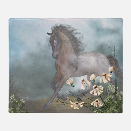 The Horse Throw Blanket