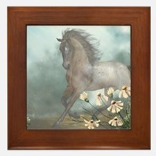 The Horse Framed Tile