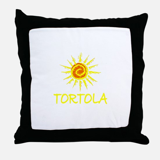 Tortola Throw Pillow