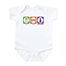 Eat Sleep Public Speaking Infant Bodysuit