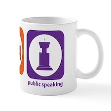 Eat Sleep Public Speaking Mug