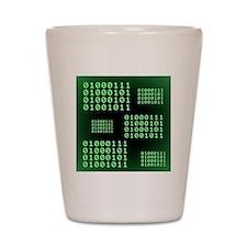 Binary code for GEEK Shot Glass