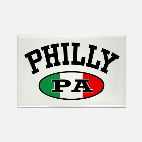 Philly PA Italian Rectangle Magnet