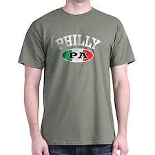 Philly PA Italian T-Shirt
