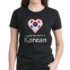 Happily Married Korean Tee