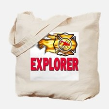 Fire Explorer Tote Bag