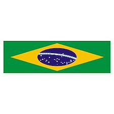 Flag of Brazil Bumper Bumper Sticker