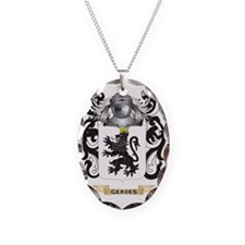 Gerdes Coat of Arms (Family Cr Necklace
