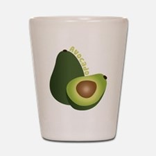 Avocado Shot Glass
