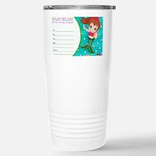 Brunette Mermaid Invita Travel Mug
