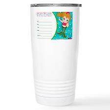 Blond Cupcake Mermaid I Travel Coffee Mug