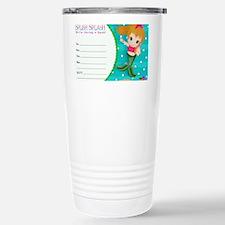 Blond Cupcake Mermaid I Travel Mug