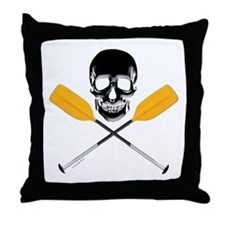 Paddle ore Die Throw Pillow