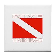 Dive Trinidad Tile Coaster
