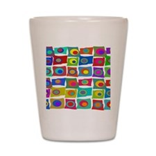 MCM Funky Squares Shot Glass