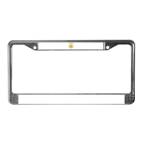 Trinidad License Plate Frame
