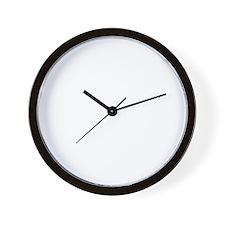 WTF WHITE Wall Clock