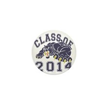 Class Of 2014 Saber-Tooth Tiger Mini Button