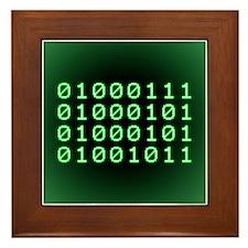 Binary code for GEEK Framed Tile