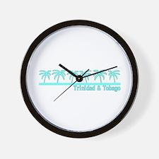 Trinidad & Tobago Wall Clock