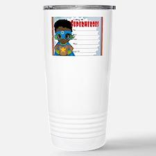 African American Boy Su Travel Mug