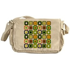 MCM squares 222 Duvet Messenger Bag