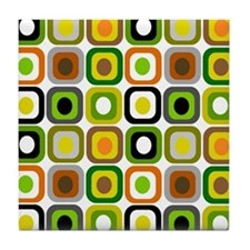MCM squares 222 Duvet Tile Coaster