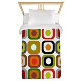 Mid century Luxe Twin Duvet Cover