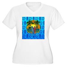 Surfing Sunset Ho T-Shirt