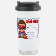 Super Hero Boy Travel Mug