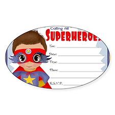Super Hero Boy Decal