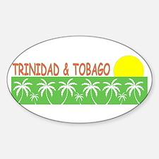 Trinidad & Tobago Oval Decal