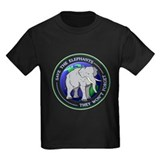 Save the elephants Kids T-shirts (Dark)