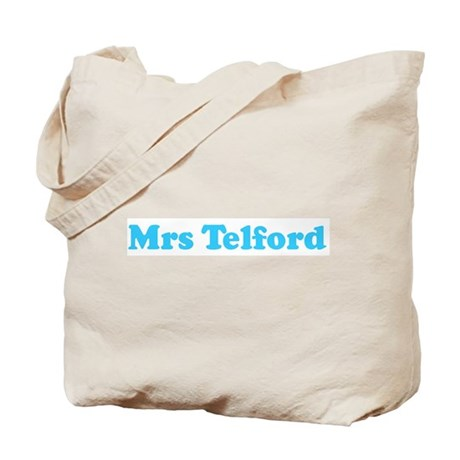 Mrs Telford Tote Bag