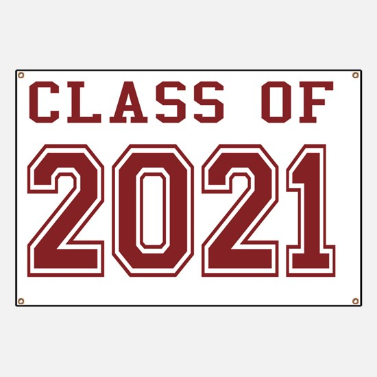 Class of 2021 (Red) Banner