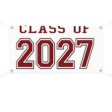 Class of 2027 Banner