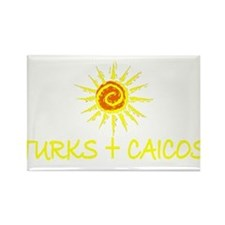 Turks & Caicos Rectangle Magnet