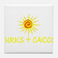 Turks & Caicos Tile Coaster