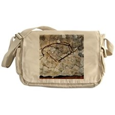 Autumn Tree in Movement by Egon Schi Messenger Bag