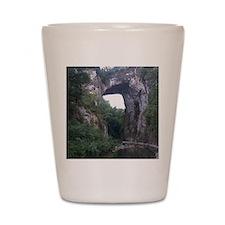The Natural Bridge, Virginia  Shot Glass