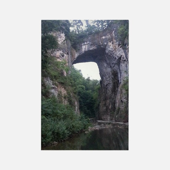 The Natural Bridge, Virginia  Rectangle Magnet