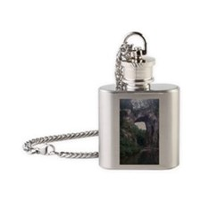 The Natural Bridge, Virginia  Flask Necklace