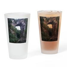 The Natural Bridge, Virginia  Drinking Glass