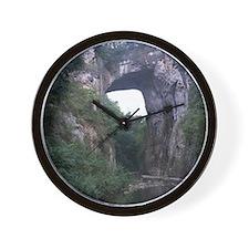 The Natural Bridge, Virginia  Wall Clock