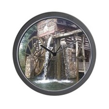 Dollywood Grist Mill Wall Clock