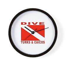 Dive Turks & Caicos Wall Clock