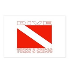 Dive Turks & Caicos Postcards (Package of 8)